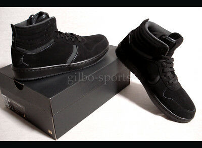 reputable site 076af 88a7f NIKE AIR JORDAN Heritage Black Black Grey Gr. 41 42 42,5 43 AH1064 ...