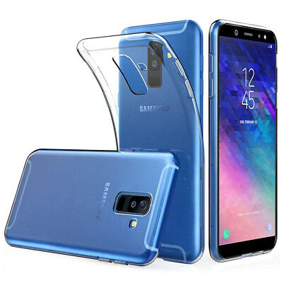 Coque Silicone TPU Clear gel Ultra Fine Samsung Galaxy A6+/ A6 Plus (2018) 6.0""