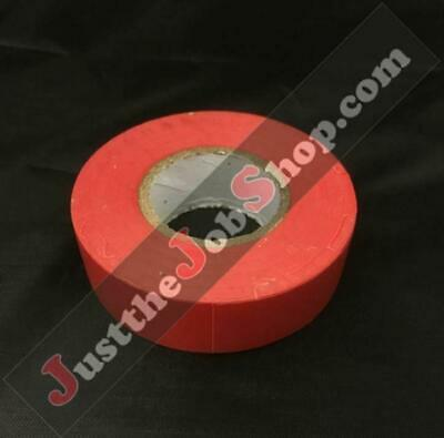 ELECTRICAL PVC RED INSULATION TAPE FLAME RETARDANT 19mm x 20m