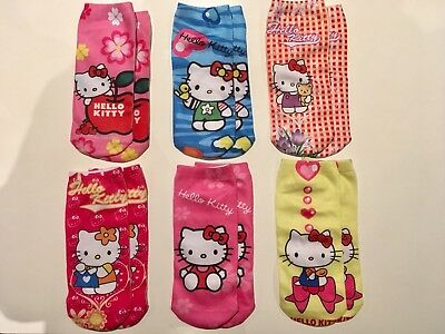 Only $3 / Pair!! Super Cute Cartoon Socks For Kids - Hello Kitty