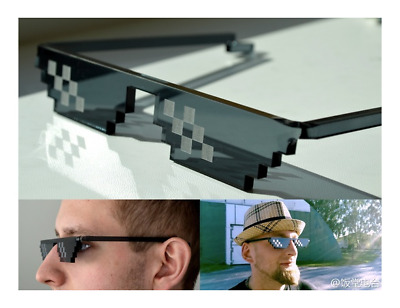 Thug Life Sonnenbrille 8 Bit Unisex Deal with it Youtube Gangster Vatertag