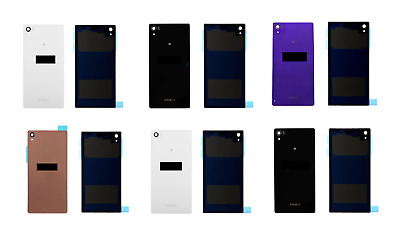 New Replacement Sony Xperia Z2 & Z3 Battery Back Cover Panel Rear Glass Adhesive