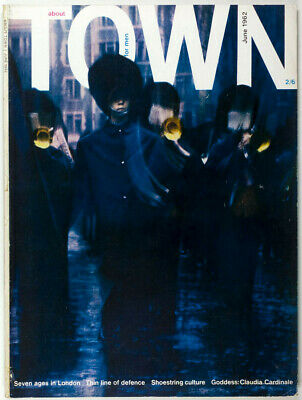 Tony Hancock TERENCE DONOVAN Erwin Fieger CLAUDIA CARDINALE About Town Magazine