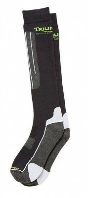 Triumph Mens Performance Summer Motorcycle Biker Socks RRP £20