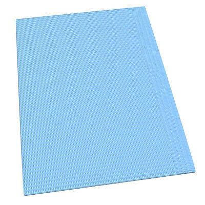 Dental Disposable Blue Bibs Absorbent Tattoo Tray Pads-Pack of 50 free shipping