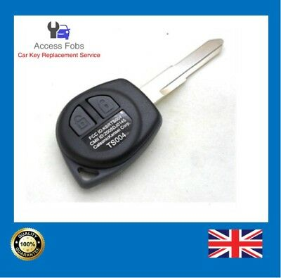 Remote Key Compatible With Suzuki Swift Vitara Splash (CAN) 2 button ID46 (S02)