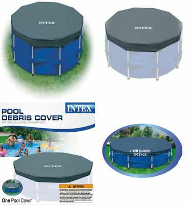 Intex 12 ft. Metal Frame Above Ground Pool Cover 28031E
