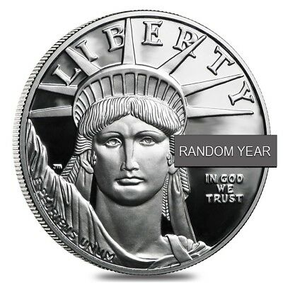 1/2 oz Proof Platinum American Eagle In Cap (Random Year)