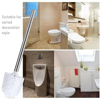 Replacement Stainless SteelC Bathroom Cleaning Toilet Brush Head Holders*`