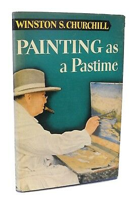 Painting as a Pastime by Winston Churchill  - 1950 - Inscribed to Fred M. Kirby