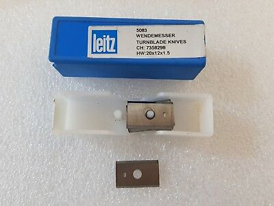 10 leitz turnblade knives 5083