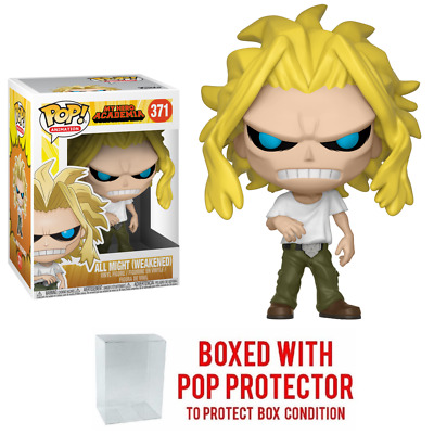Pop Animation : My Hero Academia Wave 2 : ALL MIGHT (WEAKENED) #371 Vinyl w/Case