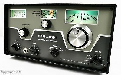 Assorted Crystals Drake SPR 4 Radio Receiver