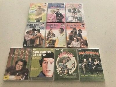 10 x Assorted TV Show DVD's - The Best Of The British Comedy