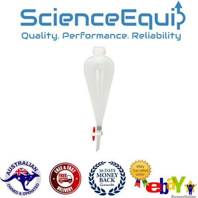 Separatory Funnel Separating with PTFE Stopcock  -100ml, 250ml, 500ml- 3sizes