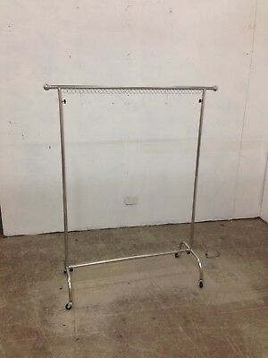 Metal clothes rack stand