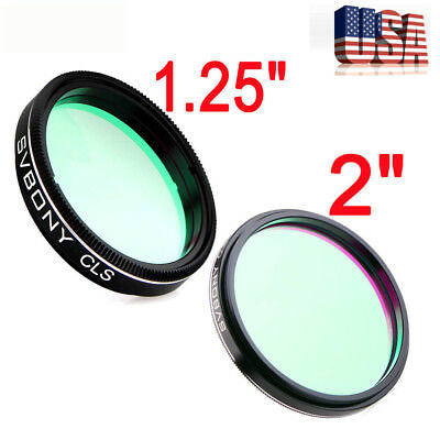 """US Stock 1.25""""&2"""" CLS Light Pollution Broadband Filter for Astro Photography NEW"""