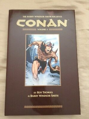 Barry Windsor-Smith Archives Conan Volume 1 HC Graphic Novel - Dark Horse - Open