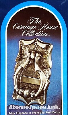 Amerock Carriage House Door Knocker Vintage New In Box Antique Silver