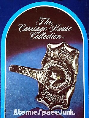 Amerock Carriage House Stationary Lever Dummy Door Knob Vintage New Nib Silver