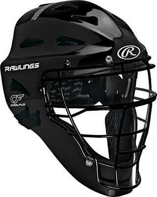 Rawlings Sporting Players Series Goods Catchers Helmet, Black. Shipping Included