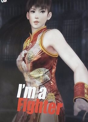 Dead Or Alive 5 Privilege Item I'm a Fighter Poster B2 Big Size Leifang