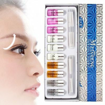 Lift Pad Eyelash Perming Set Kit With Perm Rods Nutritious Growth Treatments