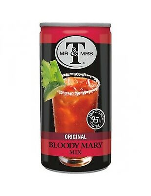 Mr. & Mrs. T Bloody Mary Mix 163ml x 24