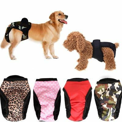 Pet Dog Diaper Sanitary Physiological Pants Washable Menstruation Underwear New-