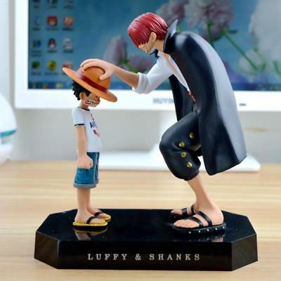 Anime Straw Hat Luffy Shanks Red Hair Action Figures Ornaments Toys