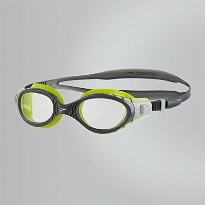 Speedo Futura Biofuse Flexiseal Lunette Mixte Adulte, Lime USA Charcoal Cle  . 8c55b5a3a166