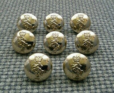Vintage REME Royal Electrical Mechanical Engineers Brass Buttons Smith Wright