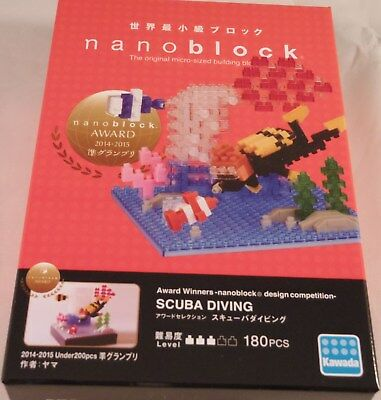 japan building toy block NBC/_278 LTD Worldwide Kawada Nanoblock OWL