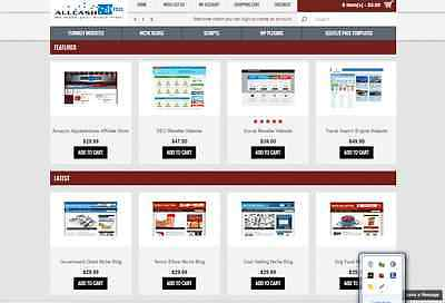 Website Selling Business 100% Autopilot, Free Installation + Hosting