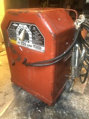 Vintage Lincoln Electric AC 225 AMP Linc  Welder Classic Local Pick-up ONLY.