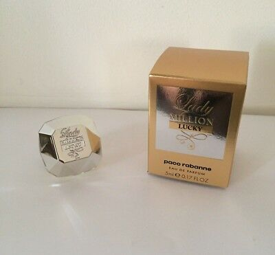 Nouveauté miniature Lady million Lucky - Paco Rabanne