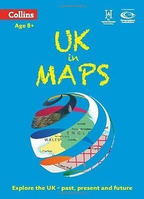UK in Maps (Collins Primary Atlases) by Stephen Scoffham, Collins Maps...
