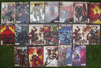 MARVEL HEROES et SECRET INVASION - Lot 19 Revues 2008/2011 Panini Comics Lot N°1