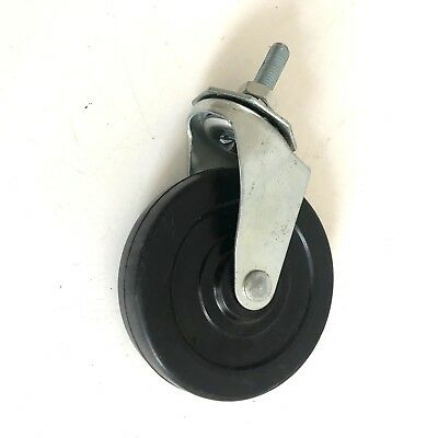 """CASTERS BALL BEARING SWIVEL, 100mm X 25MM about 4"""" x 1"""" WHEELS New"""