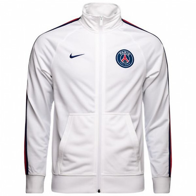 Nike PSG Paris Saint-Germain Core Trainer Jacket 2018/19 - White - Mens