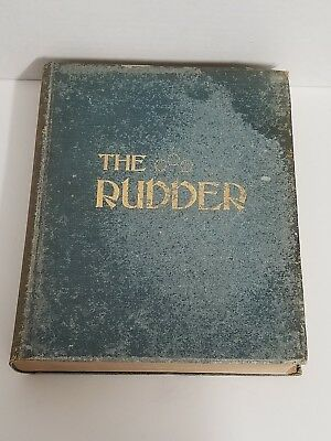 Antique Bound The Rudder Magazine Boat Yacht Sailing Complete 1916 XXXII