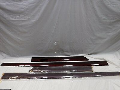 14-17 Toyota Highlander Pilot Body Side Molding Trim Pt938-48141-Xx 4Ps Oem 0257