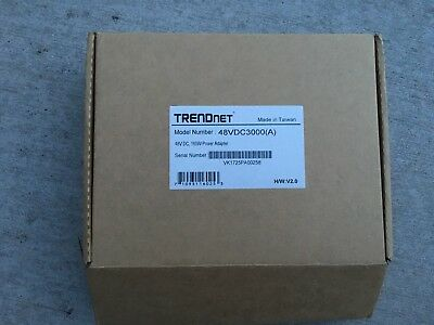 TRENDNET 48VDC3000 48 V 160 W Power Adapter