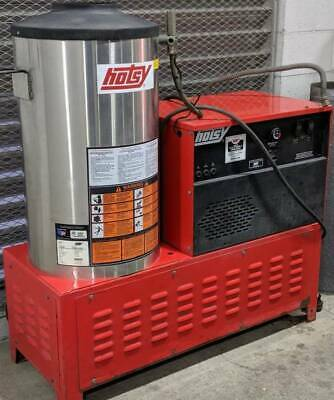 Used Hotsy 982SS 1PH / Natural Gas 4GPM @ 2000PSI Hot Water Pressure Washer