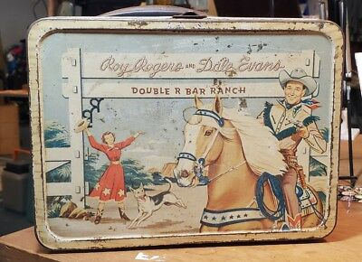 Vintage Roy Rogers & Dale Evens Lunch Box