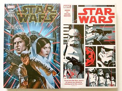 Star Wars Vol. 1 & 2 Hardcover Marvel Graphic Novel Comic Book