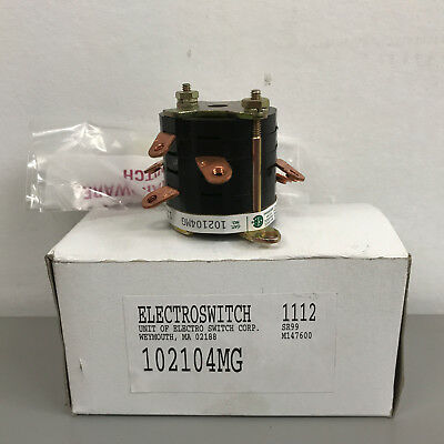 New Electroswitch 102104MG Auxiliary Contact