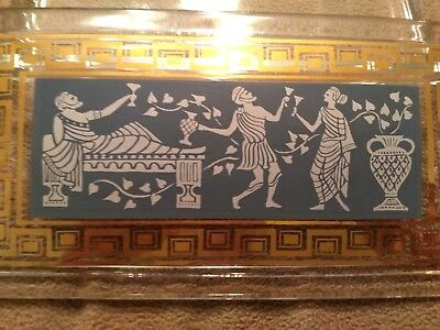 Vintage Cera Etruscan Frieze - Greek Key Dresser Box
