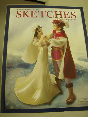 WDCC / WDCS Sketches Magazine 2006 V14 #1 & #3 Both Mint Condition