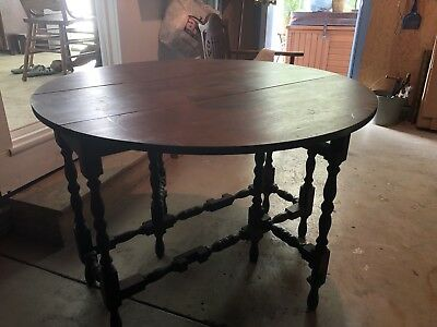 Antique Gate Leg Table ~ Beautiful!!!